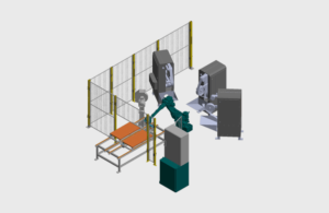 Automatizuota šlifavimo sistema